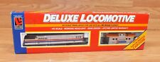 *FOR PARTS* Life-Like HO Scale Amtrak Deluxe Locomotive With Matching Caboose
