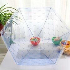 Food Umbrella Cover Fly Mosquito Mesh Net for Picnic BBQ Kitchen Cookouts New