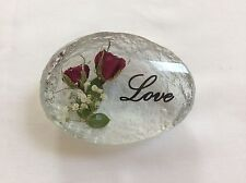 LOVE (HAND MADE WITH REAL ROSES)