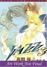 Jazz Vol. 3 Yaoi by Sakae Maeda (2006, Paperback)