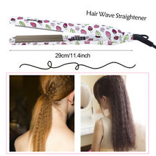 New Curling Hair Straightener Crimper Fluffy Mini Wave Curling Styling Tools LY