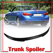 BMW F33 Convertible Boot Trunk Spoiler Unpaint ABS 2014-2017 428i