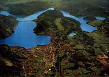 Lago di LUGANO Tessin Panorama aereo Schweiz Luftaufnahme Luftbild-AK ungelaufen