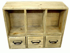 Wooden Height 3 Chests of Drawers