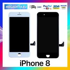 DISPLAY LCD SCHERMO per Apple iPhone 8 touch screen ORIGINALE TIANMA Nero Bianco