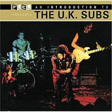 UK SUBS - AN INTRODUCTION CD (BEST OF / GREATEST HITS) CHARLIE HARPER / UK-PUNK