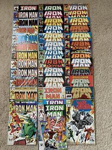 Marvel Comics Lot of 37 IRON MAN 80's-90's VF/NM Few Keys Only 1 Dollar each