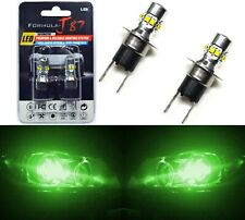 LED 50W H3C 64146BC Green Two Bulbs Fog Light Replacement OE Show Use Lamp
