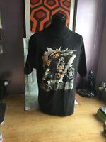 Vintage NFL Nutmeg Mills Los Angeles Raiders XL T-Shirt - 1993 - 100% cotton