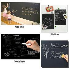 Blackboard Removable Vinyl Wall Sticker Chalkboard Decal Board 45x200CM SM