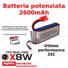 Drone SYMA X8W  HEADLESS NUOVO MODELLO foto video HD microSD batteria potenziata