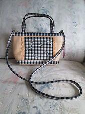 ETIENNE AIGNER $28 Fantasy Island Mini Straw Gingham Bee Hand/Shoulder Bag NEW