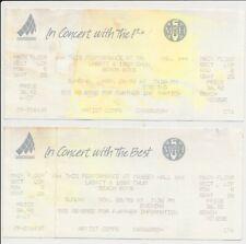 The Beach Boys Massey Hall Tickets Sunday November 28-1993-Labatt & 1050 Chum