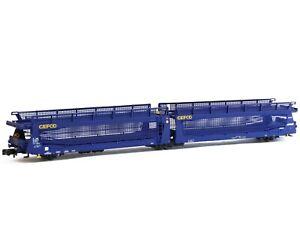 MFTrain MF33264 Car Carrying Wagon TA370 Gefco , Blue, Ep.vi # New IN Boxed#