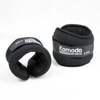 Komodo Neoprene Ankle / Wrist Weights Running Training Exercise Fitness Weight