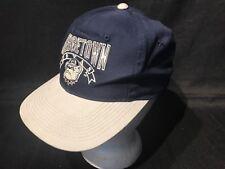Vintage NCAA GEORGETOWN Hoyas  THE GAME Hat Snapback Cap Blue