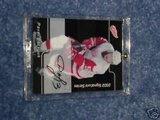 PAVEL DATSYUK 2002 RC AUTO  card #233