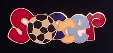 Soccer Pin Badge ~ Great for a Soccer Mom to Wear!!! Beautiful and Fabulous!!
