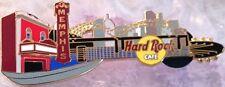 Hard Rock Cafe MEMPHIS 2002 City Guitar PIN Bridge & Skyline -HRC Catalog #15336
