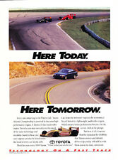 1994 Toyota Corolla - Race Original Car Advertisement Print Ad J199