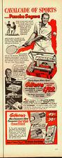 1951 Vintage ad for Gillette Super Speed Razor/Pancho Segura/Tennis Pro (071213