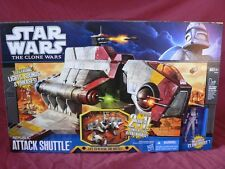 STAR WARS THE CLONE WARS  - REPUBLIC ATTACK SHUTTLE GUNSHIP FIGHTER VEHICLE