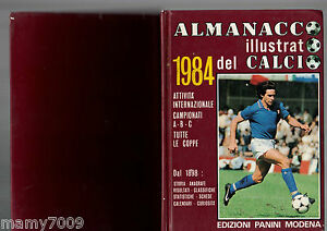 ALMANACCO ILLUSTRATO DEL CALCIO 1984=PANINI=COD.984=BRUNO CONTI COPERTINA