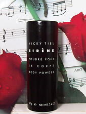 Vicky Tiel Sirene Body Powder 4.0 Oz. Unboxed.