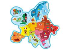 magnet brossard savane carte europe, aimant au choix