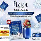 Frozen Collagen Whitening Skin X10 Gluta 2in1 Glutathione Acne Reduce 60 Capsule