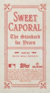 2021 Topps T206 Wave 6 SWEET CAPORAL BACKS Cards ~ Pick your card