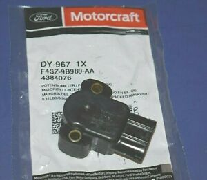 Throttle Position Sensor TPS Motorcraft DY-967 F4SZ-9B989-AA Ford Lincoln Merc