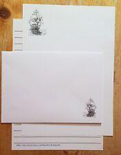 Sea Sailing Ship Letter Writing Paper & Envelopes Stationery Set