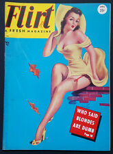 Flirt Magazine April 1949 Billy DeVorss Silky Stocking Pin up Lili St.Cyr Wenzel