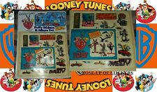1984 Looney Tunes puffy stickers and album set WB Buggs Bunny