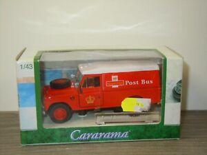 Land Rover Royal Mail Post Bus - Cararama 1:43 in Box *53189