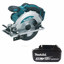 MAKITA 18V LXT DSS611Z CIRCULAR SAW & BL1840 BATTERY FUEL CELL INDICATOR