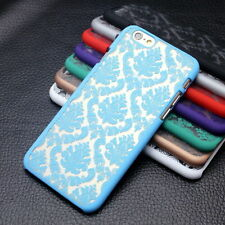 Hard Back Damask Phone Case Cover for IPhone 7/ New Samsung Galaxy S7 / S7 Edge