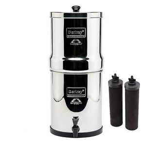 Big Berkey Water Purifier System w/2 Black Filters Authorized Dealer & Warranty!