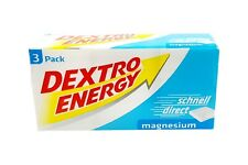 2x 3-Packs Dextro Energy Magnesium 276g   0.5lbs Dextrose from Germany ✈ TRACKED