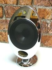 1 x KEF KHT-2001 Chrome Finish Home Theatre Surround Sound Loud Speaker