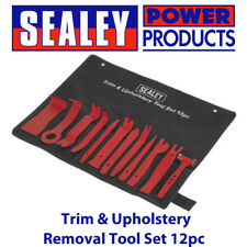 Sealey RT12KIT Trim & Upholstery Removal Tool Set 12pc Vehicle/Car Interior