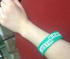 Justin Bieber Silicone Bracelet Green