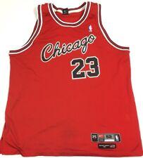 Authentic Nike Chicago Bulls Michael Jordan Flight 8403 NBA Rookie Jersey SZ 52