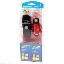 NiteRider Lumina Micro 650 Headlight & Sabre 80 Taillight Bike Light Combo USB