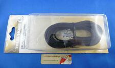 DSL - ISDN Telefon, PC oder Zusatzgeräte-Anschlusskabel 6m, RJ45 zu RJ 45, 66176