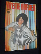YVETTE HORNER DISQUES CBS 70s RARE AFFICHE FRENCH POSTER ORIGINAL