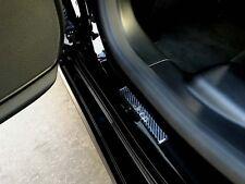 2pcs JEEP Doom Carbon Fiber Door Step Door Sills Sticker Decal
