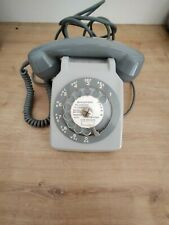 Ancien TELEPHONE à cadran Gris  Vintage ne fonctionne pas pour décoration
