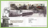 G.B. 2013 Classic Locomotives M/S Royal Mail First Day Cover, Belfast